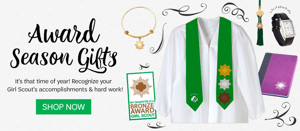 Award season gifts for your Girl Scout